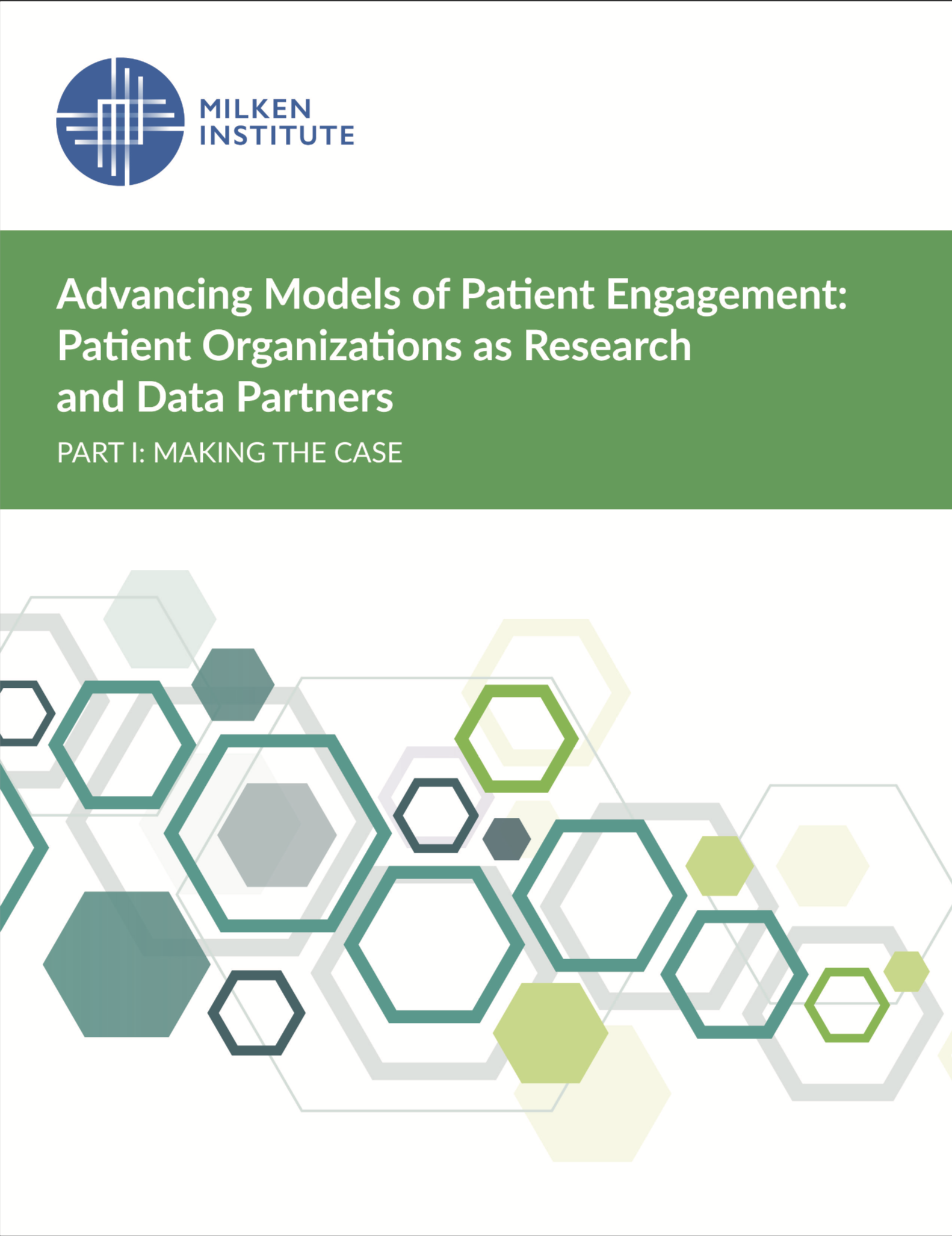 Advancing Models of Patient Engagement