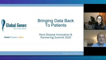 Bringing Data Back To Patients Rare Disease Innovation & Partnering Summitt 2020