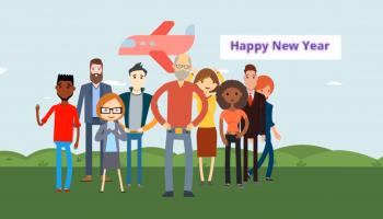Happy New Year 2021 RARE X