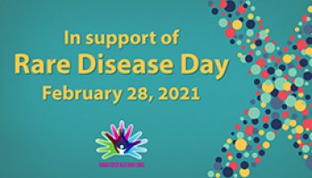 In Support Of Rare Disease Day Graphic
