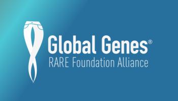 Global Genes Logo 1 Blue Background